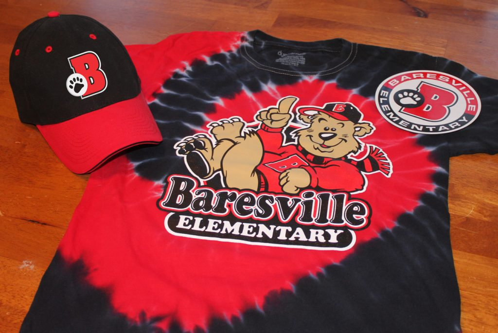 Baresville Tie Dye t-shirt