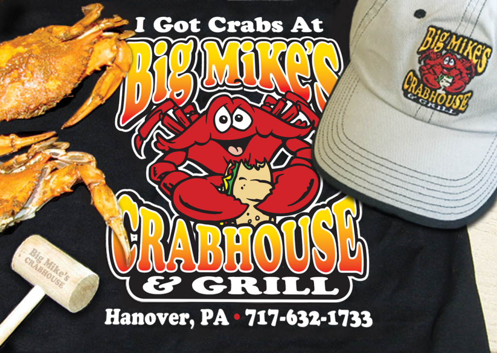 Big Mike's Crabhouse Black T-Shirt