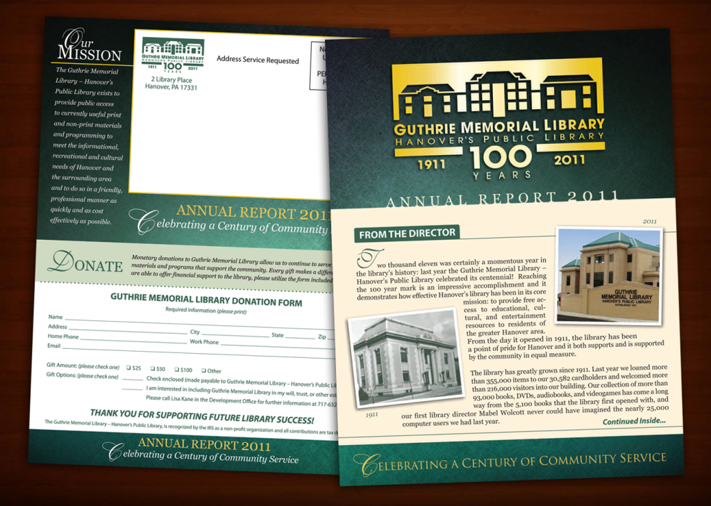 Guthrie Memorial Library Annual Report
