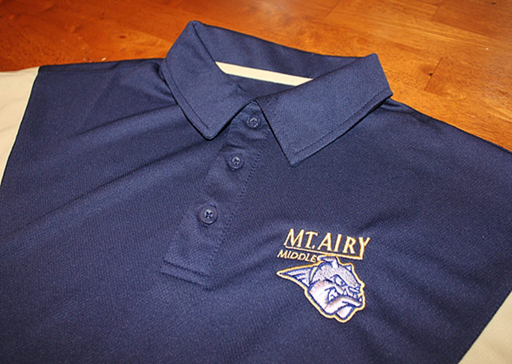 Mt Airy Middle School polo